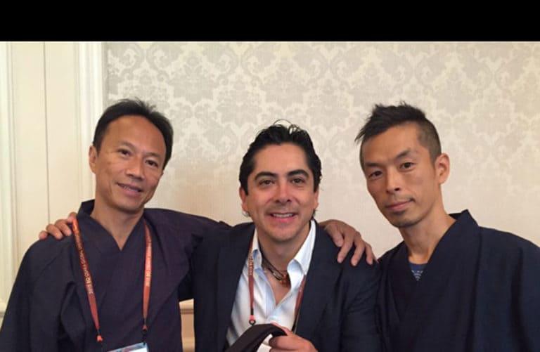 Carlos Requena | Abogado Penalista | con Hirofumi Matsubayashi y Kazuya Kudo