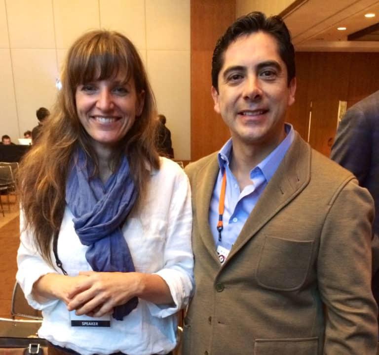Carlos Requena | Abogado Penalista | con Sarah Marquis