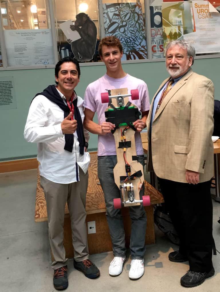 Carlos Requena | Abogado Penalista | con Steve Goldman & MIT student