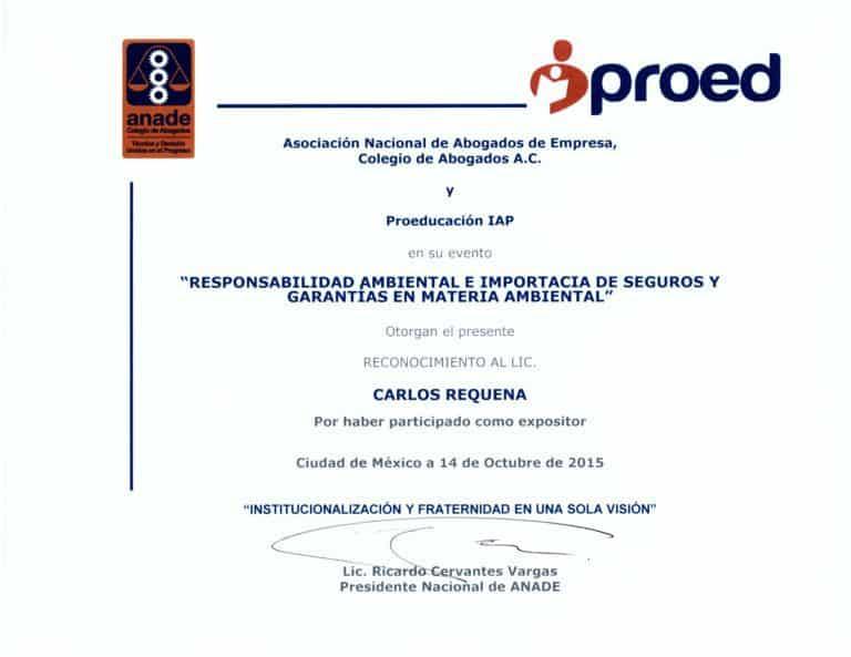 Carlos Requena | Abogado Penalista | ANADE - PROED