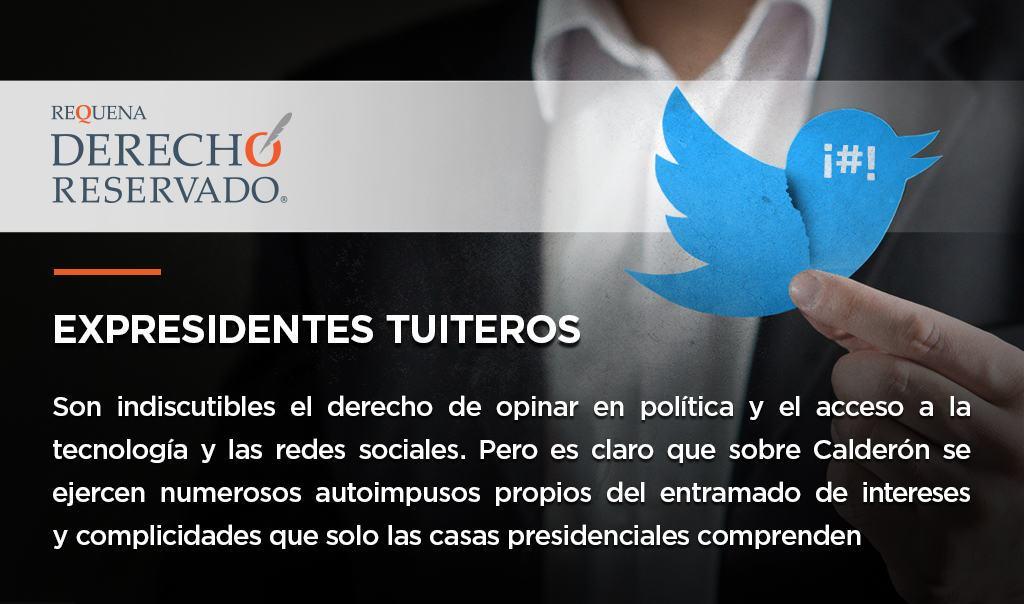 Expresidentes tuiteros