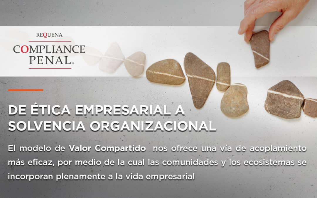 De ética empresarial a solvencia organizacional
