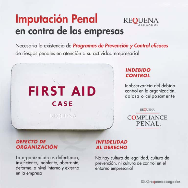 Imputación Penal en contra de las Empresas | Compliance Penal | Abogado Carlos Requena