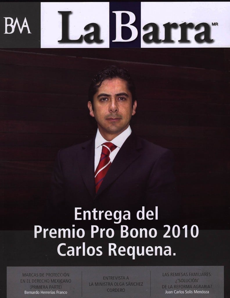 Entrega de Premio Pro Bono 2010