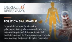 Política Saludable | Derecho Reservado | Carlos Requena