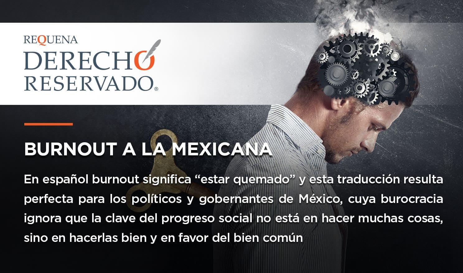 Burnout a la mexicana