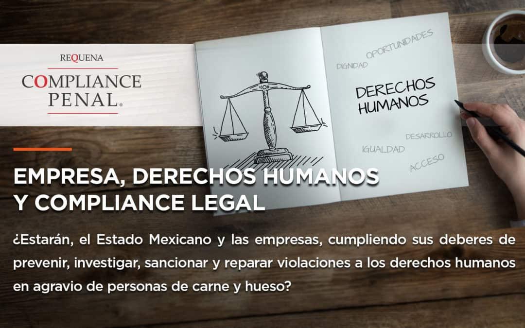 Empresa, derechos humanos y compliance legal