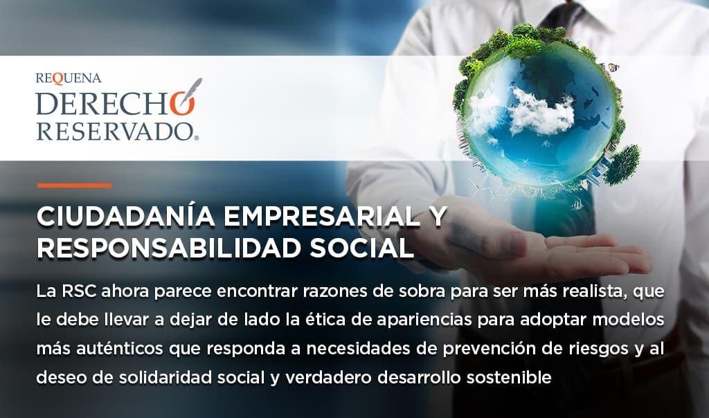 Ciudadanía Empresarial y Responsabilidad Social
